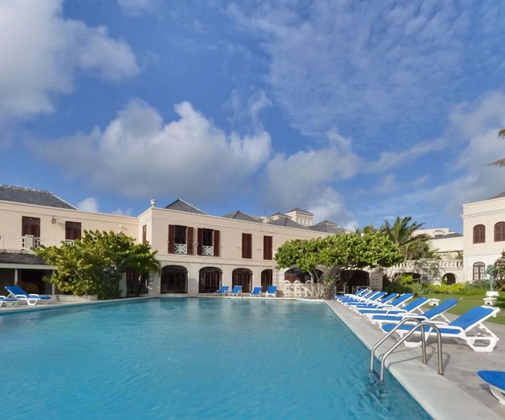 Imagine holidaying around this pool
